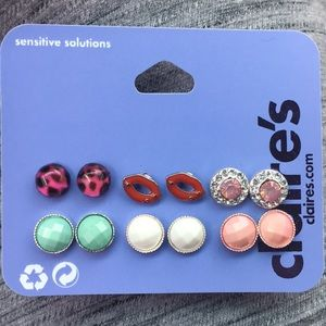 Earrings brand new Claire's